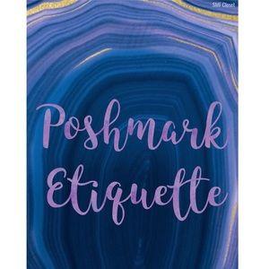 Poshmark Etiquette